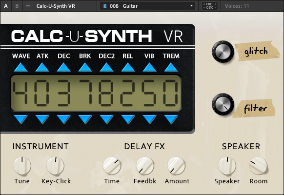 The Calc-U-Synth VR Interface